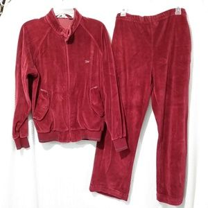 CHRISTIAN DIOR MONSIEUR CRIMSON Track suit